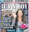 daily express it's a boy kate cabmridge predazzo blog
