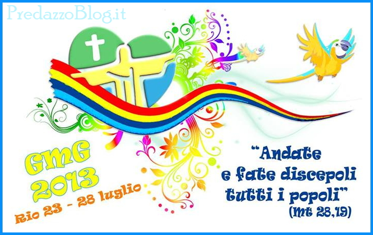 gmg rio 2013 papa francesco 11 GMG 2013 a Rio segui papa Francesco in diretta streaming