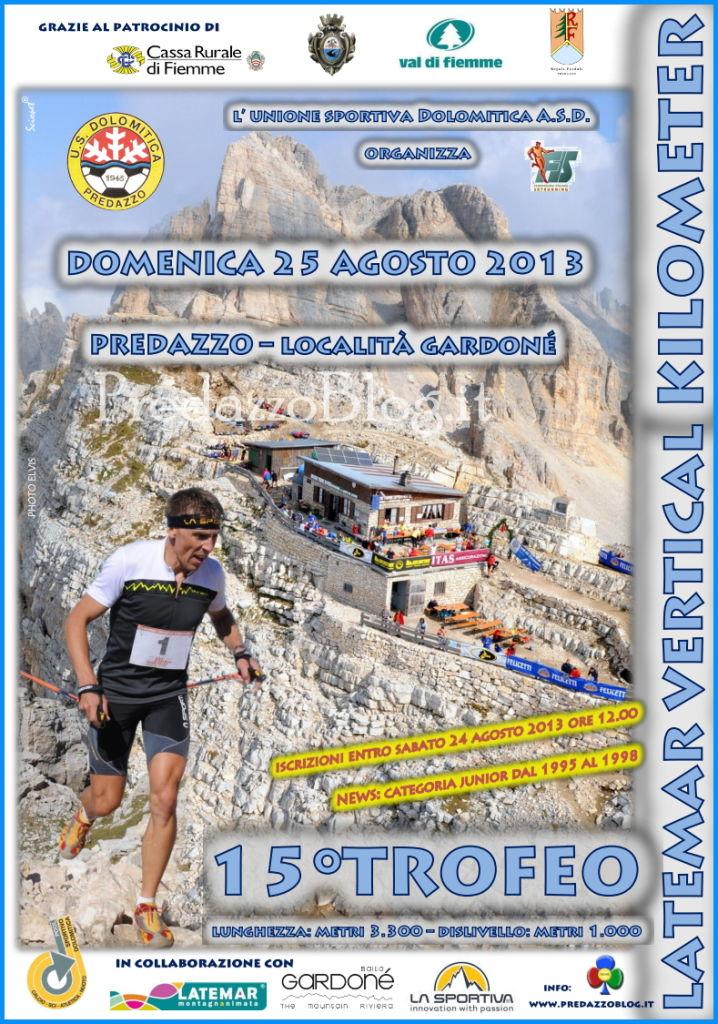 latemar vertical kilometer 2013 predazzo blog Predazzo, 15° Trofeo Latemar Vertical Kilometer