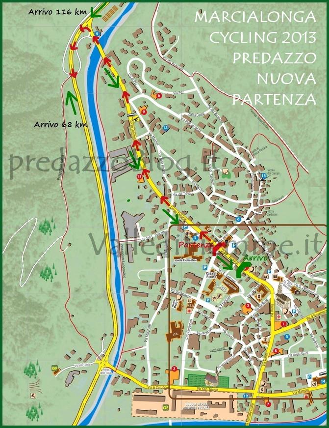 marcialonga cycling nuova partenza predazzo