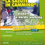 nordic walking diabete predazzo 150x150 Predazzo, soddisfazione per lincontro Diabete e Nordic Walking