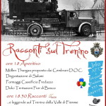 racconti sul trenino predazzo blog 150x150 Fischia il Treno nella piazza di Predazzo   Foto