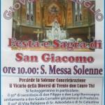 san giacomo 2013 predazzo celebrazioni 150x150 Predazzo, avvisi della Parrocchia dal 24 al 31 luglio
