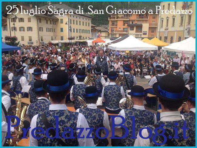 san giacomo predazzo Predazzo 25 luglio 2013 sagra di San Giacomo