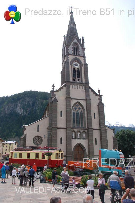 treno in piazza a predazzo b51 transdolomites treno fiemme predazzo blog4 Assemblea dei Soci di Transdolomites a Predazzo
