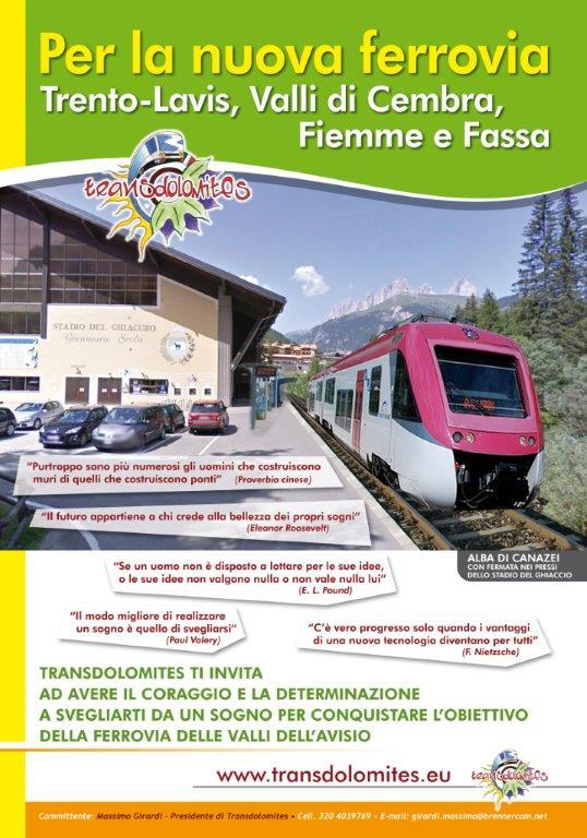 03 ALBA STADIO DEL GHIACCIO copia Il treno dellAvisio sfreccia sui manifesti