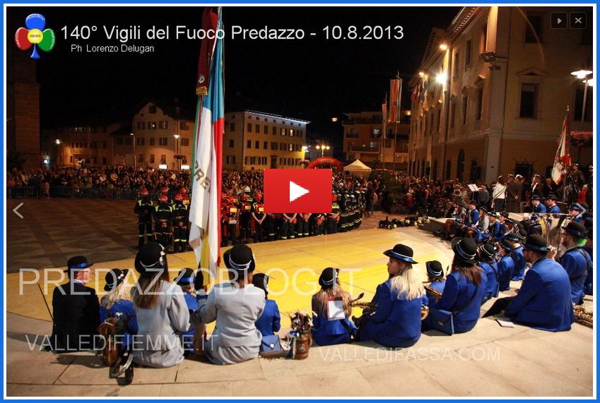 140 anni vigili del fuoco predazzo for video I video del 140° dei Vigili del Fuoco di Predazzo