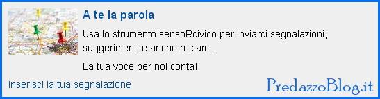 a te la parola sensor civico predazzo blog Predazzo, convocazione Consiglio Comunale   3 settembre 2013