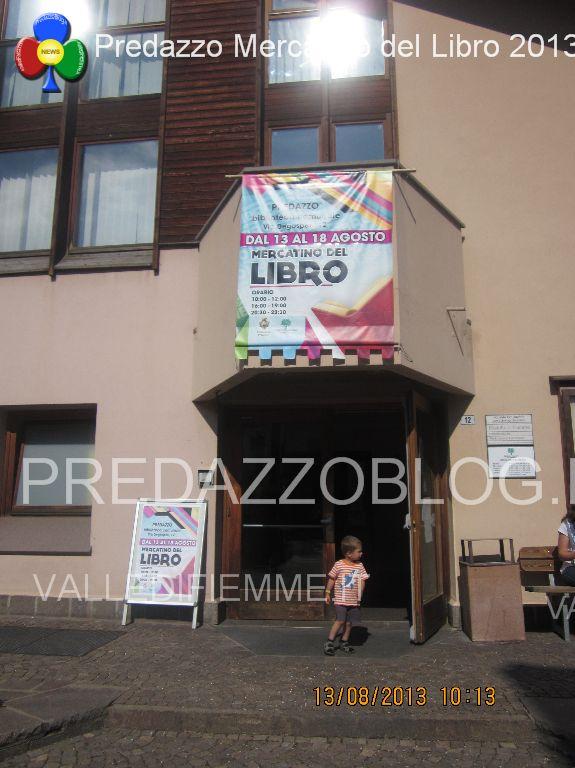 biblioteca predazzo mercatino del libro 2013 predazzoblog6 Biblioteca di Predazzo, relazione delle attività 2016