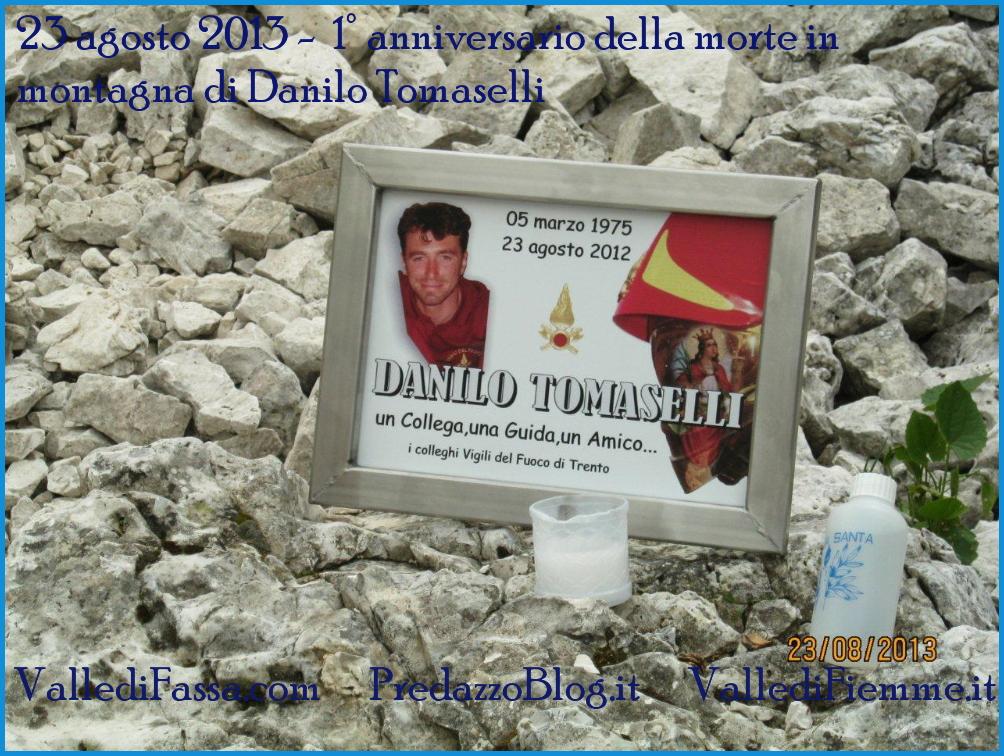 danilo tomaselli 23 agosto 2013 1 23 agosto 2013, una targa sul Sassolungo per Danilo Tomaselli