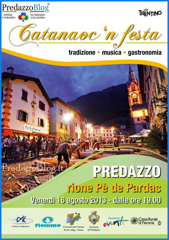 predazzo catanauc 2013 copertina Predazzo, Catanàoc in festa 2013
