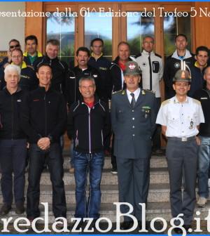 Predazzo presentazione 61^ Edizione del Trofeo 5 Nazioni di Sci.