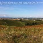 dalla valle di fassa a roma a piedi verso papa francesco45 150x150 In cammino a piedi dalle Dolomiti di Fassa fino a Roma da Papa Francesco