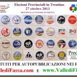elezioni provinciali 2013 loghi e spazi gratuiti su siti fiemme fassa 150x150 Elezioni politiche 2013 in Trentino Alto Adige, tutte le liste con i nomi dei candidati alla Camera