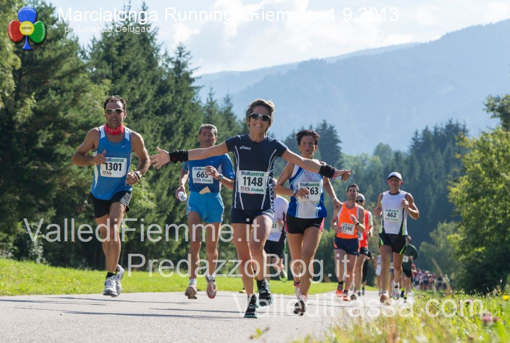 marcialonga running 2013 le foto in valle di fiemme2  13° Marcialonga Running domenica 6 settembre