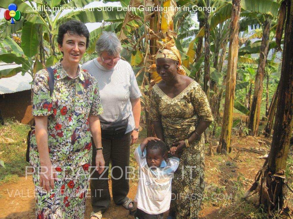 suor delia guadagnini di predazzo foto dalla missione in congo2 Veglia Missionaria di Trento, lintervento di sr. Delia Guadagnini