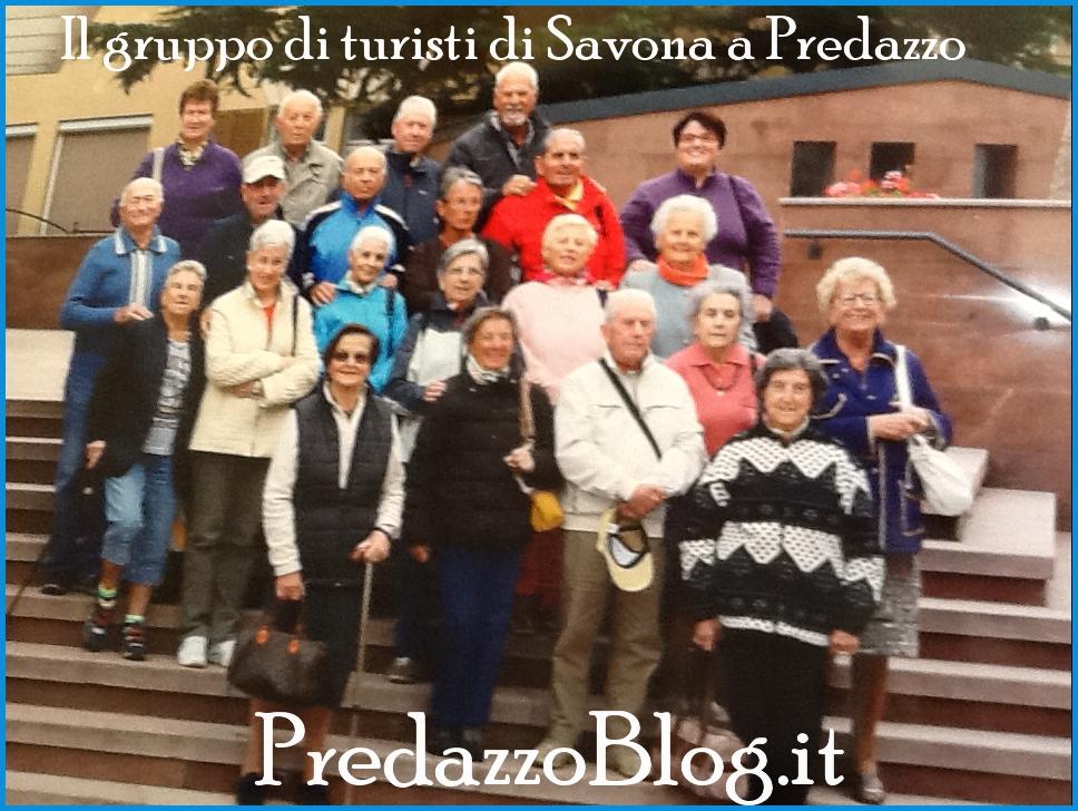 turisti savona a predazzo Predazzo, i turisti di Savona ringraziano