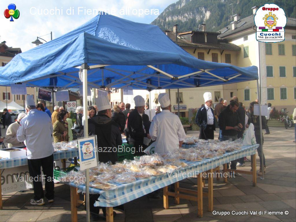 Gruppo Cuochi Valle di Fiemme predazzoblog10 Il Dolce della Solidarietà con i Cuochi di Fiemme