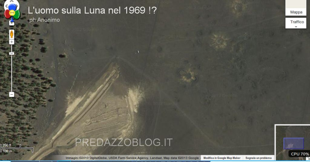 americani sulla luna 1969 predazzoblog1 Luomo sulla Luna nel 1969. Forse era tutto finto.. ecco le foto!