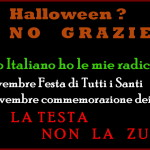 halloween non grazie usa la testa non la zucca 150x150 Vade retro Halloween! Ex satanista mette in guardia   Video