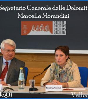 marcella morandini segretario generale dolomiti unesco predazzo blog