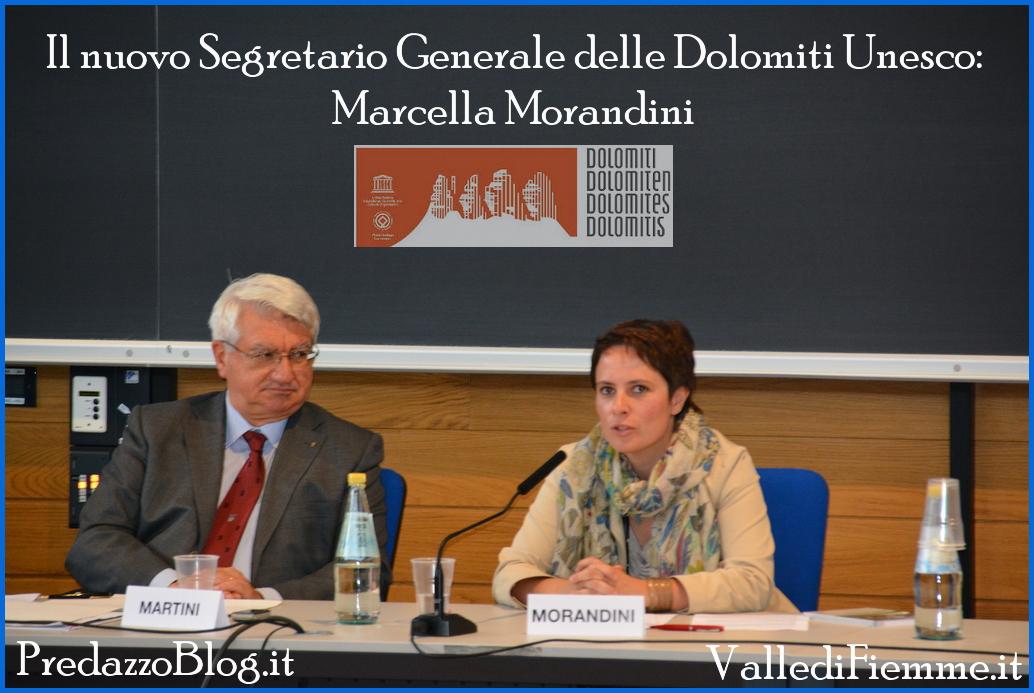 marcella morandini segretario generale dolomiti unesco predazzo blog Marcella Morandini di Predazzo è il nuovo segretario generale Dolomiti Unesco