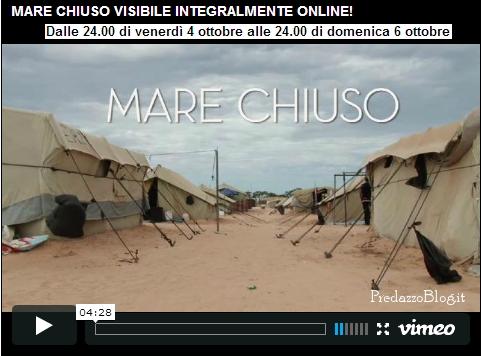 mare chiuso on line predazzo blog Mare Chiuso visibile on line fino a domenica 6 ottobre