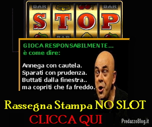 no slot rassegna stampa Bolzano ordina: Togliete dai bar le slot machine!