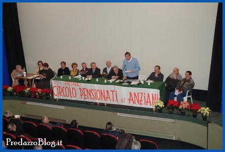pensionati anziani predazzo Predazzo, festeggiati gli ultranovantenni
