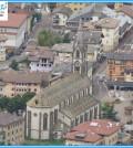 predazzo chiesa campanile piazza ss apostoli predazzoblog