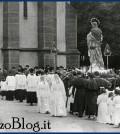 predazzo processione madonna