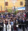 predazzo, processione madonna rosario ottobre 2013 predazzoblog3