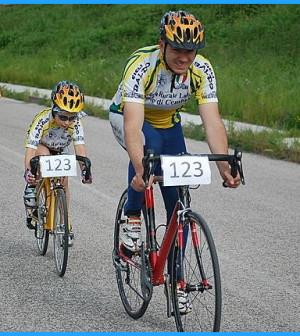 trofeo padre figlio predazzo in bici 2013