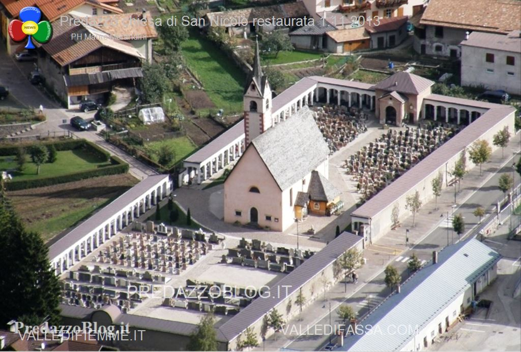 Predazzo chiesa di san Nicolò al cimitero restaurata 2013 ph mauro morandini1 Parrocchia di Predazzo