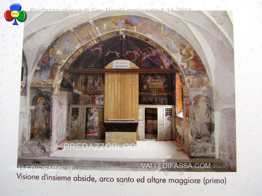 Predazzo chiesa di san Nicolò al cimitero restaurata 2013 ph mauro morandini19 Predazzo, inaugurazione di fine lavori della Chiesa di San Nicolò