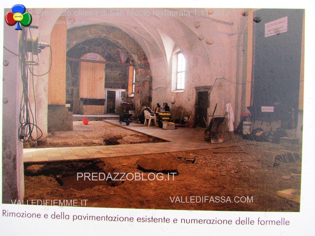 Predazzo chiesa di san Nicolò al cimitero restaurata 2013 ph mauro morandini5 Predazzo, inaugurazione di fine lavori della Chiesa di San Nicolò