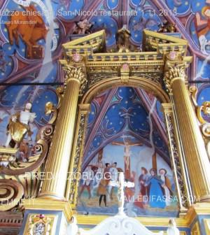 Predazzo chiesa di san Nicolò al cimitero restaurata 2013 ph mauro morandini50