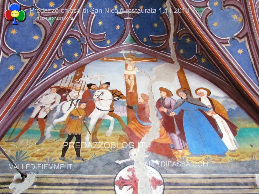 Predazzo chiesa di san Nicolò al cimitero restaurata 2013 ph mauro morandini56 Predazzo, inaugurazione di fine lavori della Chiesa di San Nicolò