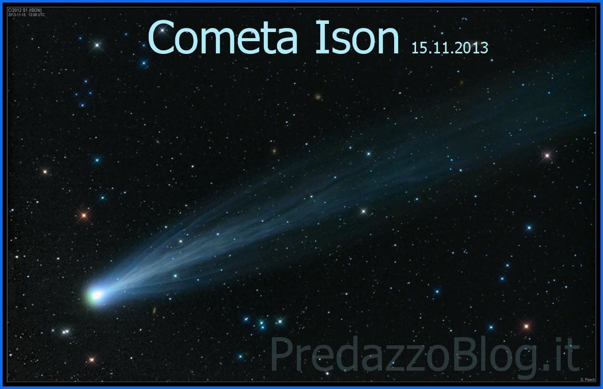 cometa ison foto 15.11.2013 Cometa Ison, inizia lo spettacolo!