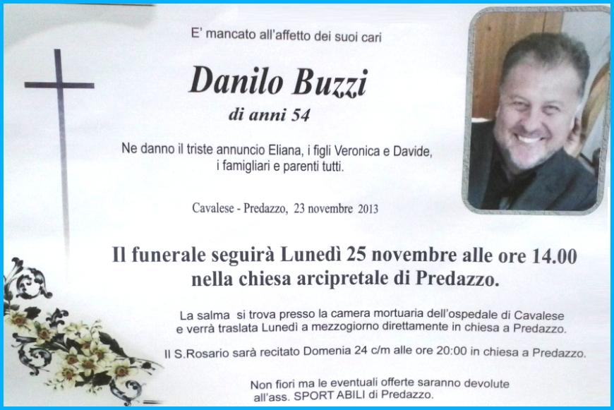 danilo buzzi predazzo2 Danilo Buzzi di Predazzo muore in auto sulla strada di fondovalle