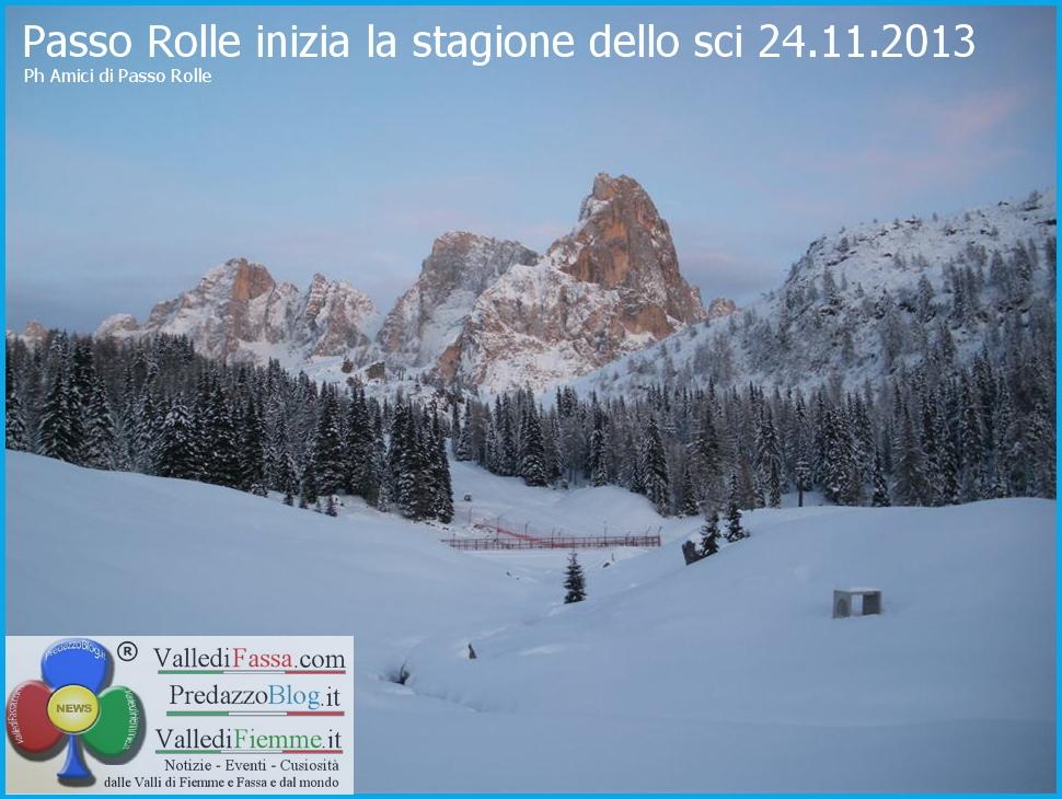passo rolle stagione sci al via 24.11.2013 predazzo blog 2 Al via la stagione dello sci, Passo Rolle apre domani