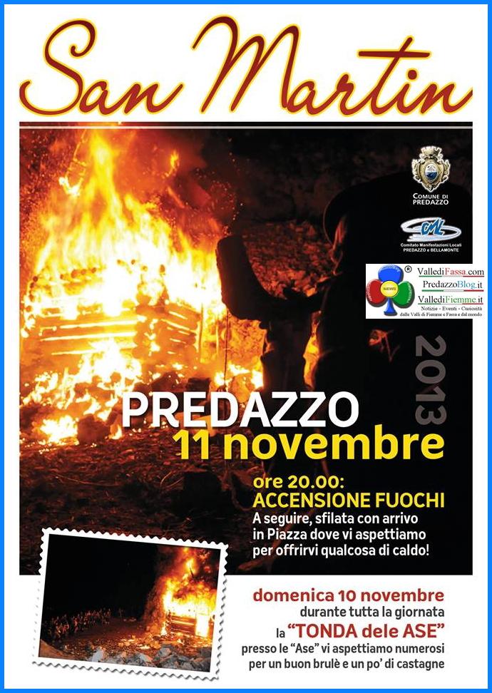 san martin 2013 predazzo Predazzo, la Tonda delle Ase de San Martin