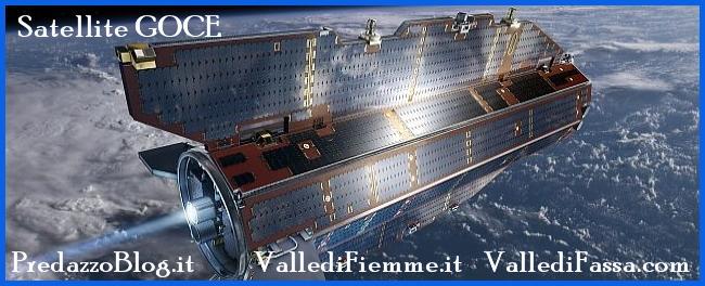 satellite goce Attenzione il Satellite Goce potrebbe cadere sul Trentino