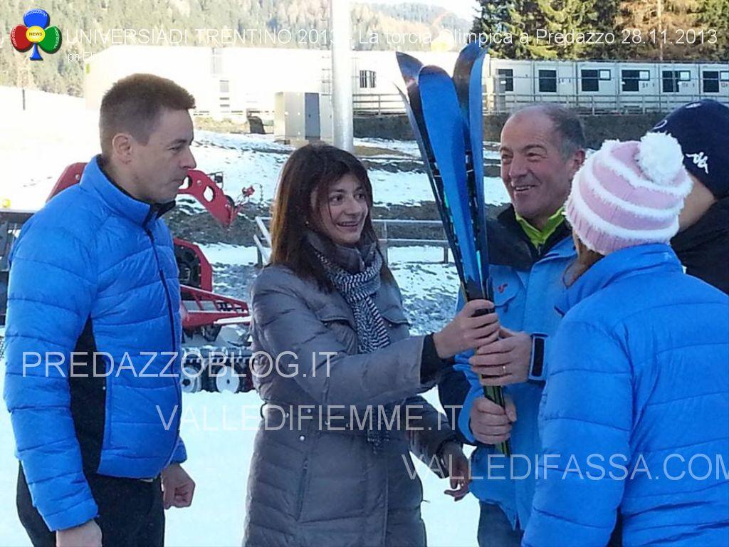 universiadi 2013 la torcia olimpica a predazzo fiemme fassa eligio3 Arriva a Predazzo la Torcia Olimpica delle Universiadi 2013