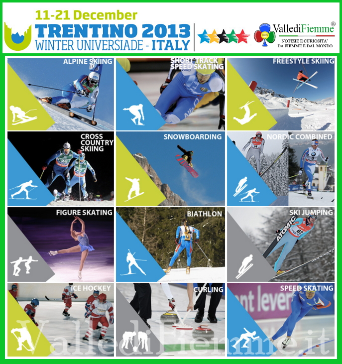 universiadi trentino 2013 winter universiade italy fiemme WAKE UP ecco linno delle Universiadi del Trentino