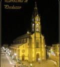chiesa predazzo notturna