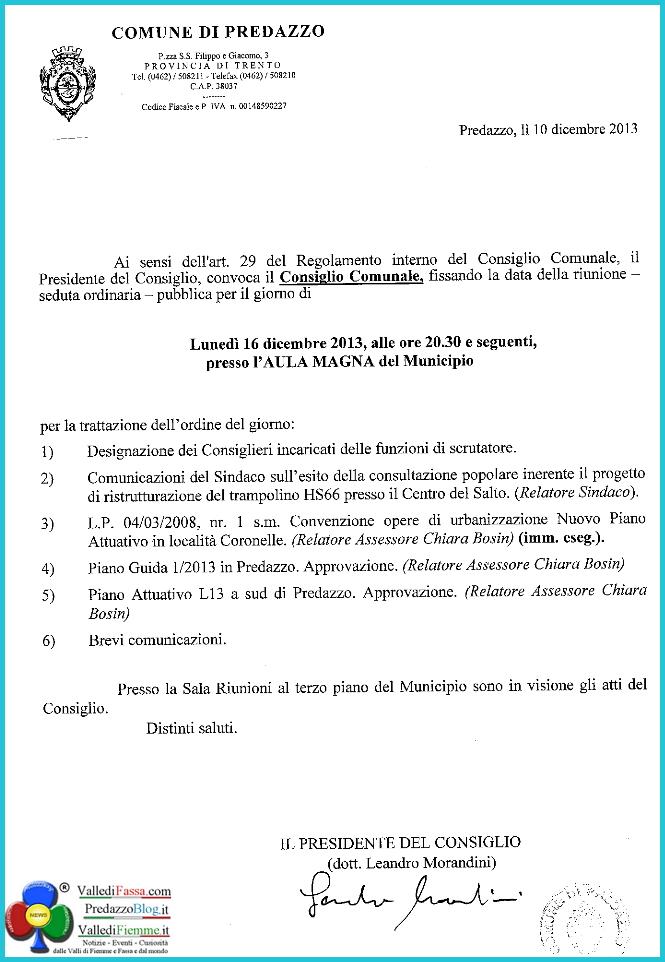 consiglio comunale predazzo dicembre 2013 Consiglio Comunale di Predazzo e risultati referendum Trampolini   video