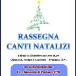 coro negritella predazzo concerto natale 2013 150x150 22 dicembre, Rassegna Canti di Natale con 3 cori