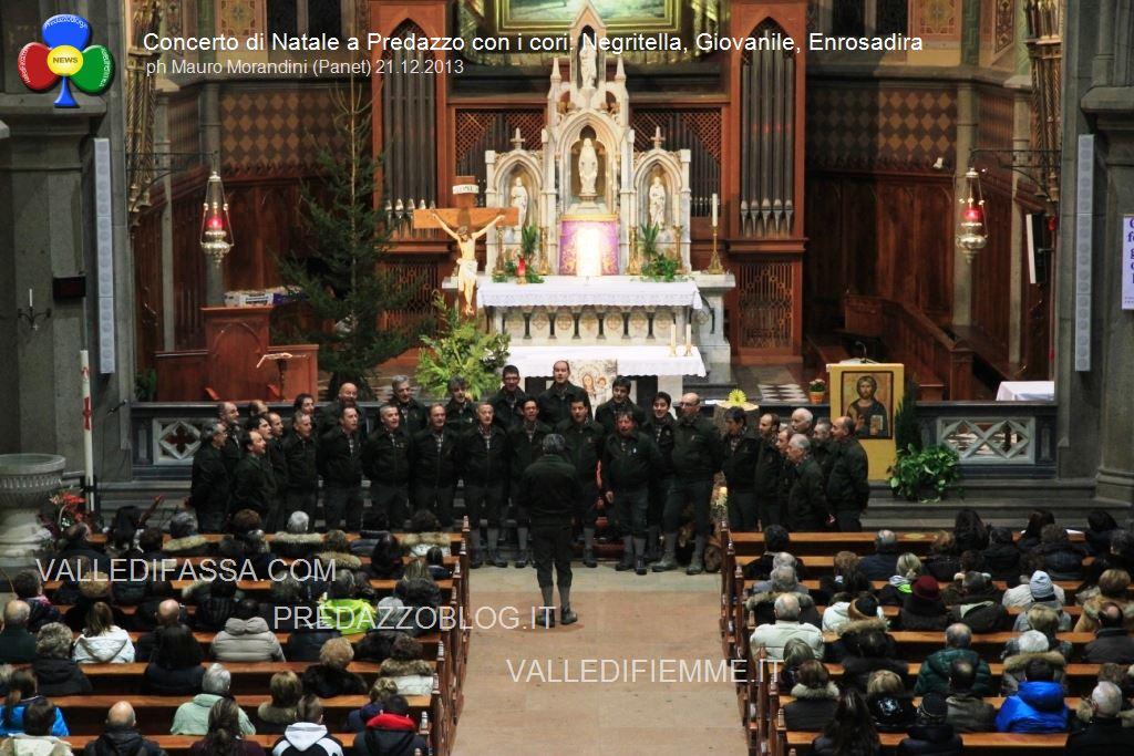 predazzo concerto di natala coro negritella coro giovanile coro enrosadira3 Avvisi Parrocchia 13/20 dicembre