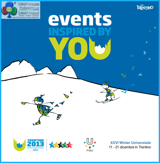 programma eventi universiadi trentino 2013 winter universiade italy fiemme Universiade 2013   Programma gare e manifestazioni con Flash Mob a Predazzo